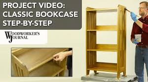 Classic Bookcase Building A Classic Bookcase Step By Step Project Video Youtube