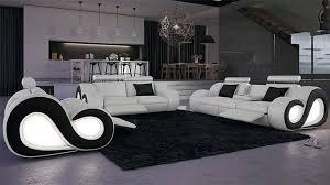 canapé design noir et blanc canape noir et blanc design fabulous salon cuir nesta avec canap