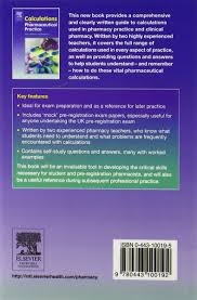 calculations for pharmaceutical practice amazon co uk arthur j