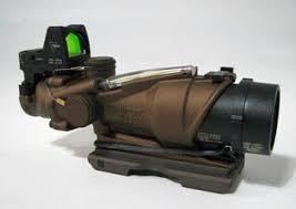 amazon acog black friday trijicon ta31ecos g acog 4x32 green xhair 3 25 moa rmr killflash