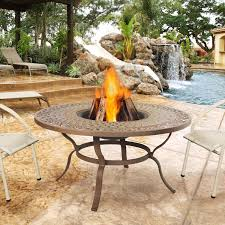 Real Flame Fire Pit - real flame florence 47 inch wood burning fire pit table