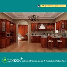 solid wood kitchen furniture linkok furniture modern modular kitchen design lacquer modular
