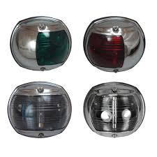 perko led navigation lights perko round chrome casing navigation lights sheridan marine