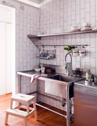 kitchen style industrial kitchen design concrete flooring butcher