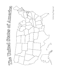 printable usa map united states map printable blk and white color in union