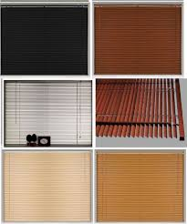 pvc wood wooden grain effect venetian window blind blinds home