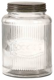 kitchen glass canisters with lids dyer clear ribbed glass cookie jar with lid iron kitchen