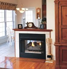 Desa Ventless Fireplace - in vent free natural gas fireplace logs with remote desa oakwood