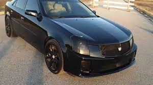 black 2004 cadillac cts 2004 custom cadillac cts v
