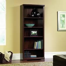 Sauder Oak Bookcase by Amazon Com Sauder Furniture Carolina Estate 5 Shelf Adjustable