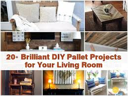 diy livingroom 20 brilliant diy pallet projects for your living room