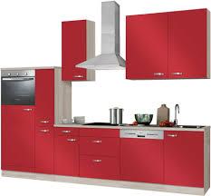 K Henzeile Komplett Küchenzeile Ohne E Geräte Optifit Faro Breite 300 Cm Online