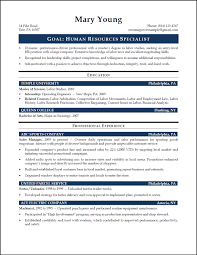 Skills On Resume Example by Captivating Resume Format For Fresher Hr Job For Your Hr Skills On