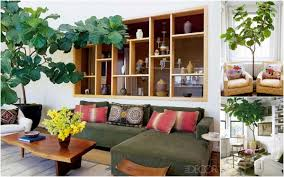 interior simple and neat white living room decoration using
