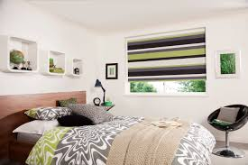 White Bedroom Blinds Interior Cute Roller Blinds Bedroom For Small Window With0olive