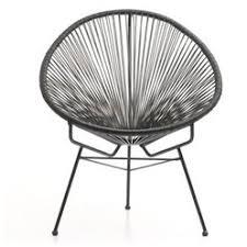 siege design siège ou fauteuil en fils tendus design style vintage jardin
