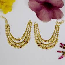 3 gram gold earrings 1 gram gold sonchafa