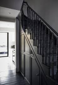 Black Banister The 25 Best Black Staircase Ideas On Pinterest Black Painted