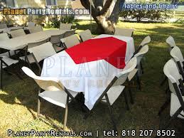 party tables and chairs for rent tables chairs rectangular tables party rentals encino