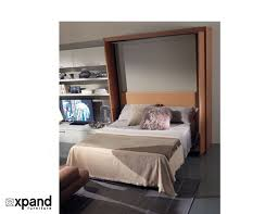 Rotating Beds Amore Revolving Tv Murphy Bed Expand Furniture