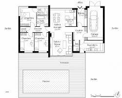 plan maison 7 chambres plan maison 4 chambre plain pied beautiful de maison en l avec