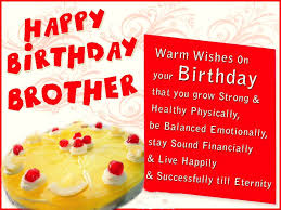 beautiful birthday greeting card for brother nicewishes