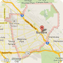 map of burbank ca burbank dumpster rentals for construction projects and recycling