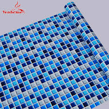aliexpress com buy 10m kitchen bathroom pvc tiles mosaic self