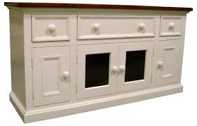 Media Console With Hutch Media Console Tv Stand Kate Madison Furniture