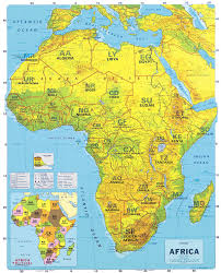 africa map physical teroruanfe world map physical