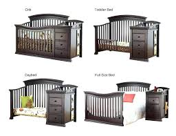 Princeton Convertible Crib Sorelle Tuscany Crib 4 In 1 Convertible Crib And Changer Espresso