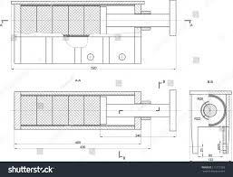 sketch mechanical device vector eps10 stock vector 111717383