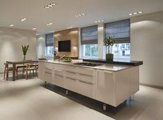 kitchen and bath showroom island a bulthaup b3 kitchen island with sub zero door
