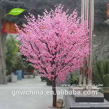 gnw bls063 pink color cherry blossom trees wholesale wedding