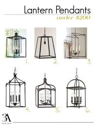 Lantern Pendant Light For Kitchen Best 25 Lantern Pendant Lighting Ideas On Pinterest Island