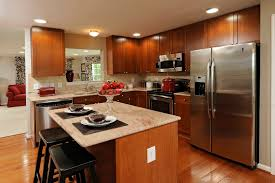 kitchen with brown cabinets best kitchen countertops that create fabulous appearance ruchi
