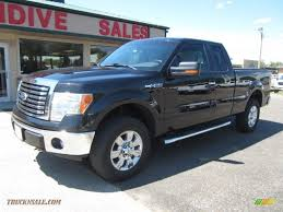 Ford F150 Truck 2012 - 2012 ford f150 xlt supercab 4x4 in tuxedo black metallic a58453