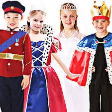 british royal kids fancy dress book week fairytale boys girls