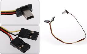 fpv transmitter video output av usb cable wire 5v dc power bec