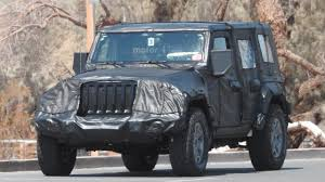 jeep bandit 2017 2018 jeep wrangler hides evolutionary design underneath thick camo