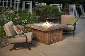outdoor greatroom fire table greatroom sierra fire pit table with cf 2424 burner sierra 2424 m k