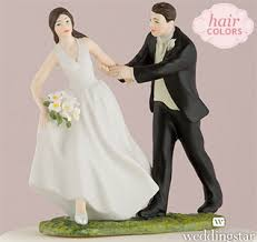 Funny Wedding Cake Toppers Comical Cake Toppers Bride U0026 Groom Cake Toppers