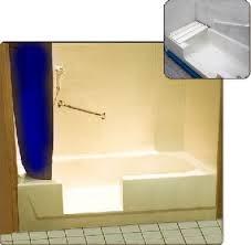 Bathtub Cutaway Quick Tub Step In Bath And Shower Conversion System Assistive