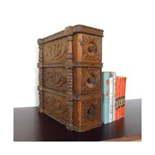 solid wood sewing machine cabinets vintage sewing table drawers ornate organizing boxes wooden set
