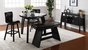 triangle bench home zone furniture dining room