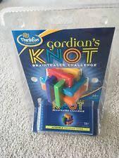 Challenge Knot Thinkfun Gordian S Gordians Knot Brainteaser Challenge Ebay
