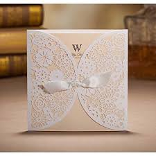 discount wedding invitations wishmade 50 count set laser cut invitations cards kits