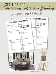 home decor planner six tips on room design and decor planning live laugh rowe