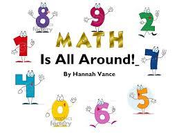 s math is all around