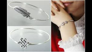 bracelet silver bangle images Latest silver bangles for women silver jewellery designs jpg